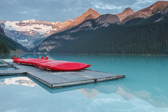 Lake Louise by sunrise (seryani) Tags: trip viaje light summer vacation naturaleza mountain lake holiday canada mountains reflection nature water america forest sunrise canon reflections landscape rockies lago outdoors muelle nationalpark dock agua scenery holidays outdoor lakes lac august paisaje agosto amanecer louise bosque alberta reflejo verano northamerica banff rockymountains lakelouise montaa vacations vacaciones canad reflejos montaas 2012 bote banffnationalpark rocosas bosques canadianrockies parquenacional canadianrockymountains norteamrica laclouise montaasrocosas canoneos5dmarkii canonef1635f28lii canonef1635 5dmarkii canadarockymountains lagolouise august2012 summer2012 montaasrocosasdecanad verano2012 agosto2012 vacaciones2012 parquenacionaldebanff