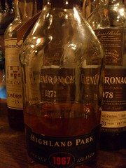 Highland Park 1967 (eitaneko photos) Tags: park tokyo bottle january highland add single 1967 whisky description cl 2012 malt