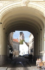 Vilnius (Wilno), Lithuania (Lietuva / Litwa), UE (LeszekZadlo) Tags: road door old city heritage history window architecture ventana site puerta gate path unesco worldheritagesite historical lithuania vilnius ue lietuva wilno litwa ph476