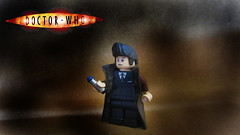 The Doctor (Logan Fulford) Tags: david green hair lego who doctor stuff piece custom thedoctor tennant removerble