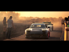 Untitled (N.O.R.E.) Tags: sunset silvia dust castrol cinematic rx7 drift fd3s raceway amr driftwest