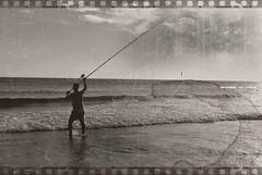 Oxidado. (Let it Be (Carmela Montero)) Tags: old sea espaa fish man beach beautiful sepia photo fishing andaluca spain nikon foto fotos cdiz pesca hombre
