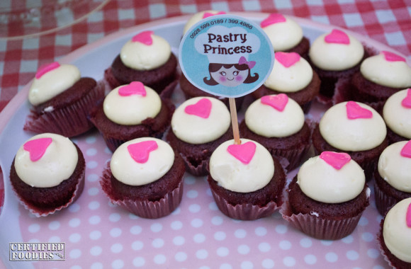 Pastry Princess Red Velvet Cupcakes