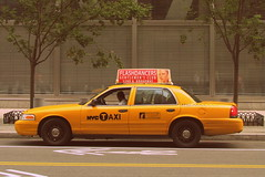 NYC Taxi on the street (halilsenturk) Tags: new york nyc usa newyork yellow photography manhattan taxi travisbickle taxidriver flashdancers