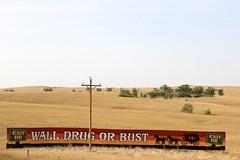Wall Drug Billboard (the_mel) Tags: wall southdakota highway billboard advertisement drug 90 i90 walldrug stagecoach