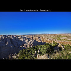 Badlands National Park ... The Land of Fossil Hunters ~ Explored (mariola aga ~ non-professional member) Tags: nature southdakota square nationalpark wideangle erosion soil land layers badlandsnationalpark badland thegalaxy fossilhunters