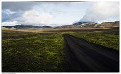 Solo la strada (Roberto Valt) Tags: panorama mountain green canon landscape landscapes iceland scenario paesaggi montagna paesaggio islanda canon7d icelanddreaming