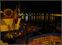 Quiete (Schano) Tags: italy boat mediterranean mediterraneo italia mare porto sicilia paesaggio trapani notturno marenostrum bonagia dmcfz28 barchebarchedapesca