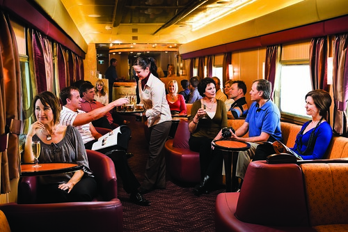 Outback Explorer Lounge, Ghan / Indian Pacific / Southern Spirit, Australia
