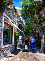Italy Capri Street August 2012 (Smo_Q -listened to Heaven by E.Sande again and aga) Tags: italien italy capri italia italie   wochy