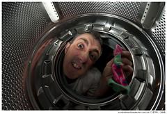Wheres that pesky sock!!   279 - 366 (~ jules ~) Tags: machine jules washing strobist d300s sb700 totiredtotryhard