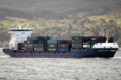 Encounter (corax71) Tags: holland netherlands dutch point clyde boat marine ship vessel cargo container maritime containership shipping gourock encounter firth cargoship cloch firthofclyde containervessel clochpoint sigmaaf70300mmf456apodgmacro cargovessel clochpointg