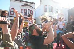 IMG_0475 (huyness) Tags: party festival rock lady bay san francisco flash mob castro area lmfao gaga flashmob streest