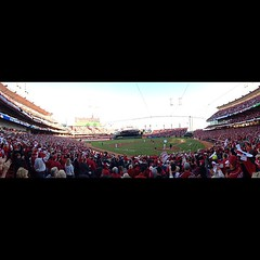 #Cincinnati #Reds #RedsOctober #panorama #nofilter #MLB #playoffs