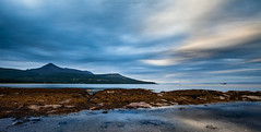 Strange clouds over Brodick bay (Premysl Fojtu) Tags: island isle arran scotland west brodick bay goatfell mountain hills horizon shore shoreline coast coastline summer 2016 july uk sea seascape water waterscape longexposure clouds cloudy dramatic weather evening moody atmospheric atmosphere rural countryside country scenery lowlight lowtide dusk twilight goldenhour reflection canon dslr eos 5dmkii ef1740 fullframe wideangle colours landscape