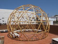 Domo Nautilus (Lunasanz) Tags: domosgeodesicos domos cupulas nautilus terraza fuerteventuta cotillofuerteventura