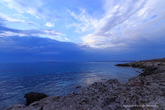 Summer Ice Sea (Antonio Ciriello) Tags: mare sea seascapes paesaggi marini paesaggimarini summer estate icesea ice ghiaccio blue blu white bianco scogli rocks cliff nuvole clouds sanvito puglia san vito taranto apulia italia italy cloudy nuvoloso canoneos600d eos600d 600d rebelt3i riflessi reflections tokina 1116 tokina1116