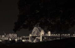 Observatory Hill @ Night (Colin_Bates) Tags: observatory hill sydney harbour bridge city night shoot