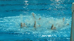 Syncro swimming