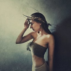 quietly pained (brookeshaden) Tags: brookeshaden whitewallwednesday budgetphotography fineartphotography selfportrait