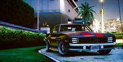 Camaro_SS (araik_kratos) Tags: game reflections car gta5 camaro night light