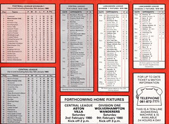 Manchester United vs Aston Villa - 1980 - Page 19 (The Sky Strikers) Tags: manchester united aston villa football league division one old trafford review 20p