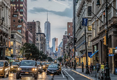 Looking South on Sixth (Jeffrey Friedkin) Tags: architecture buildings city cityscene cityscape chelsea manhattan newyork newyorkphoto nyc newyorkscene streetscene worldtradecenter wtc z