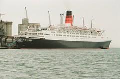 Queen Elizabeth 2 - 169-13 (Captain Martini) Tags: cruise cruising cruiseships liners cunard qe2 rmsqueenelizabeth2 southampton
