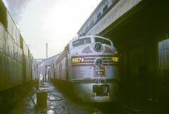 CB&Q E9 9987A (Chuck Zeiler) Tags: cbq e9 9987a burlington railroad emd locomotive chz chuck zeiler