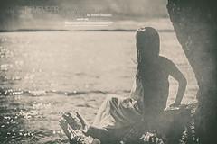 Sometimes remember the last Summer (check4newton) Tags: ocean meer fjord water sea beach remember dream summer girl nude naked see through rocks wood flash flashlight profoto acute b2 jörg oestreich art kunst prints drucke