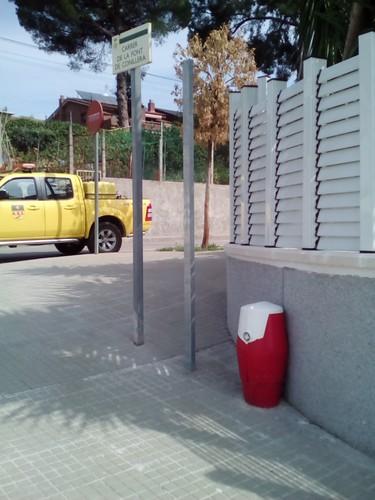 Fire-fighting facility Font Cunillera con Santa Ana