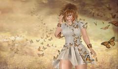 Flight of the Monarchs (roxi firanelli) Tags: {reverie} arcade thearcade argrace laq bauhausmovement monarchbutterflies secondlife