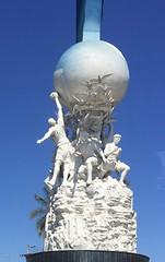 world sport statue