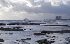 Punta de Algas (Fotgrafo-robby25) Tags: edificiosdeviviendas fujifilmxt1 islasdelmarmenor marmeditarrneo marmenor nubes sanpedrodelpinatarmurcia