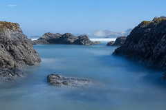 Seal Rock SP is over there. (rainbow wasabi) Tags: seal rock oregon coast pacific northwest beach rocks ocean landscape seascape nature water shoreline uas morning