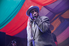 George Clinton @ Mostly Jazz Festival 10 (preynolds) Tags: concert gig livemusic dof canon5dmarkii mark2 raw tamron2470mm frontman festival singer singing suit hat stage stagelights soul funk music musician moseley moseleyprivatepark birmingham noflash counteractmagazine mostlyjazz2016 outdoorgig