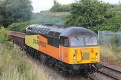 56302 6C32 Warrington Low Level (Neil Altyfan - Railway Photography) Tags: 56302 56113 6c52 basfordhall latchford sidings colasrail railvac 997095150055 warrington low level arpley signal box 270716