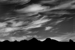 Silhouettes (E PHOTO (www.oe-photo.com)) Tags: ephoto rnerlendsson iceland nature landscape fineart bw monochrome blackandwhite clouds silhouette mountains d600 nikon
