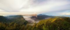 Bromo Panorama (Jokoleo) Tags: bromo mount mountain eruption volcano tengger jawatimur indonesia panorama outdoor nature