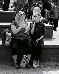 Looks delicious ... (vmanseventy) Tags: robertbmcneill tripuk scotland edinburghstreetphotography edinburghinternationalfestival scottishstreetphotography peoplephotos nikon ricohgrd1v lefteyed 50mmlens streetcandid blackandwhite filmphotography decisivemoment edinburghcastle princesstreet royalmile stgiles highstreet mound moundsquare eastprincesstreetgardens sirwalterscottmonument nationalgalleryofscotland rsa ramsaygarden waverley rosestreet playfairsteps westprincesstreetgardens georgeivbridge nikonf65 nikonfm fujix100s ricohgr panasoniclumixgm11232mmlens olympusbodycaplens panasonic20mm17ii fujixpro1 fuji18mmf2lens fuji27mmlens kodakportra160400 agfaisoletteiiisolinar45lens