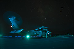 160823-N-PS473-016 (CNE CNA C6F) Tags: amphibiousreadygroup flightdeck lhd1 mh60s sailors seahawk usnavy usswasp wasparg flightoperations nightflightoperations mediterraneansea