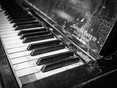 234/366 2016 - Played to bits (fishyfish_arcade) Tags: 20mmf17 gx7 lumix panasonic panasonic20mmf17asphlumixg piano worn