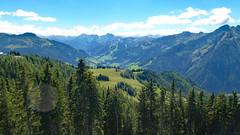 Bilderbuchaussichten (Wolf Claudia) Tags: berge mountains gipfel peak wald wlder woods natur nature wandern sterreich schladming