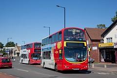 Birmingham Outer Circle, August 2016 (David Rostance) Tags: birmingham nxwm volvob7tl wright eclipsegemini 4663 bx54dgo plaxtonpresident 4023 v423moa route11