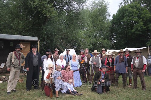 The Lincoln County Regulators at the Shakerstone Festival 2016
