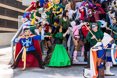 SP_50922 (Patcave) Tags: dragon con dragoncon 2016 dragoncon2016 marvel universe cosplay cosplayer cosplayers costume costumers costumes villains villain group shot shoot comics comic book comicbook