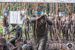 Tough to the last (alun.disley@ntlworld.com) Tags: toughmuddernorthwestengland2016 people electricshocktherapy competition competitor cholomendeleycheshire bokeh obstaclecourse wires electricity shock