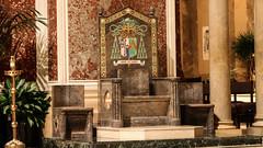 Washington's Cathedra (Lawrence OP) Tags: stmatthew cathedral washingtondc cathedra heraldry bishops