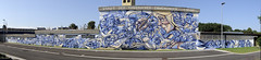 Tom Brane: the city of diaries (claude05) Tags: grafitto tombrane2016 emmendingen municipalbuildingyard artwork artist panoramicphotograph autostitch