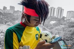 Inazuma Eleven x #AMG2016: 015 (FAT8893) Tags: amg2016 animangaki animangaki2016 cosplay inazumaeleven level5 malaysia soccer mamoru endou mark evans